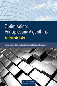 Optimization: Principles and Algorithms - Michel Bierlaire - cover