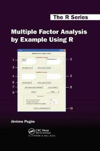 Multiple Factor Analysis by Example Using R - Jerome Pages - cover