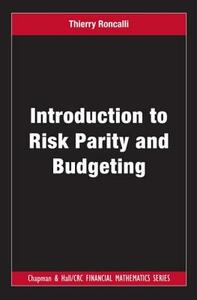 Introduction to Risk Parity and Budgeting - Thierry Roncalli - cover