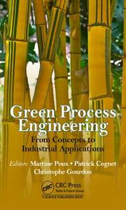 Green Process Engineering: From Concepts to Industrial Applications - cover