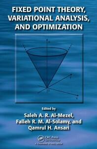 Fixed Point Theory, Variational Analysis, and Optimization - cover
