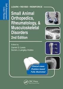 Small Animal Orthopedics, Rheumatology and Musculoskeletal Disorders: Self-Assessment Color Review 2nd Edition - cover