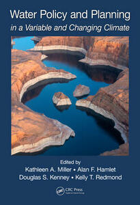 Water Policy and Planning in a Variable and Changing Climate - cover