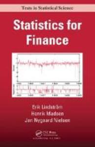 Statistics for Finance - Henrik Madsen,Erik Lindstrom,Jan Nygaard Nielsen - cover