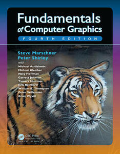 Fundamentals of Computer Graphics - Steve Marschner,Peter Shirley - cover