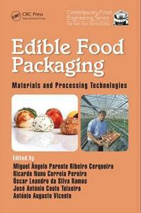 Edible Food Packaging: Materials and Processing Technologies - cover