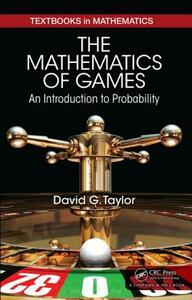 The Mathematics of Games: An Introduction to Probability - David G. Taylor - cover