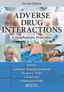 Adverse Drug Interactions: A Handbook for Prescribers, Second Edition - cover