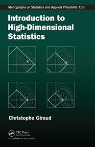 Introduction to High-Dimensional Statistics - Christophe Giraud - cover