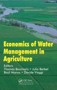 Economics of Water Management in Agriculture - cover