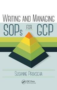 Writing and Managing SOPs for GCP - Susanne Prokscha - cover