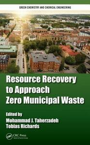 Resource Recovery to Approach Zero Municipal Waste - cover