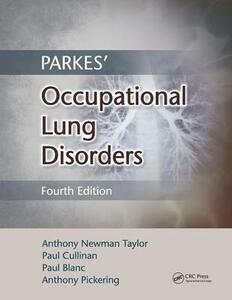 Parkes' Occupational Lung Disorders - cover