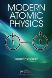 Modern Atomic Physics - Vasant Natarajan - cover