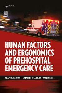 Human Factors and Ergonomics of Prehospital Emergency Care - cover