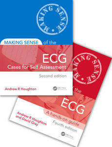 Making Sense of the ECG Fourth Edition with Cases for Self Assessment - Andrew Houghton,David Gray - cover