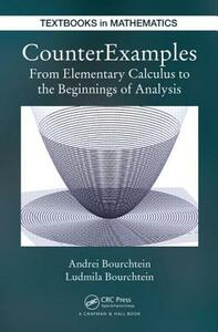 CounterExamples: From Elementary Calculus to the Beginnings of Analysis - Andrei Bourchtein,Ludmila Bourchtein - cover