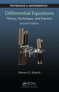 Differential Equations: Theory, Technique and Practice, Second Edition - Steven G. Krantz,George F. Simmons - cover