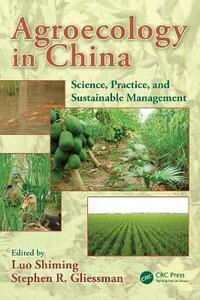 Agroecology in China: Science, Practice, and Sustainable Management - cover