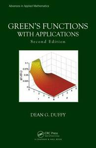 Green's Functions with Applications, Second Edition - Dean G. Duffy - cover