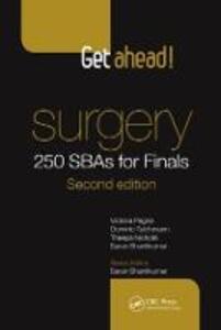 Get Ahead! Surgery: 250 SBAs for Finals - Victoria Pegna,Dominic Teichmann,Theepa Nicholls - cover