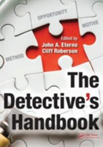 The Detective's Handbook - cover