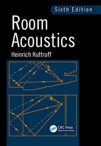 Room Acoustics - Heinrich Kuttruff - cover