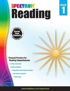 Libro in inglese Spectrum Reading Workbook, Grade 1