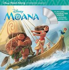 Moana Read-Along Storybook & CD - cover