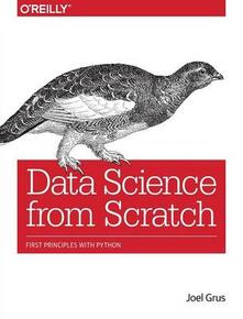 Data Science from Scratch - Joel Grus - cover