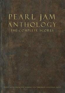 Pearl Jam Anthology - The Complete Scores (Box Set) - cover