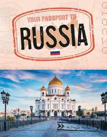 Your Passport To Russia - Douglas Hustad - cover