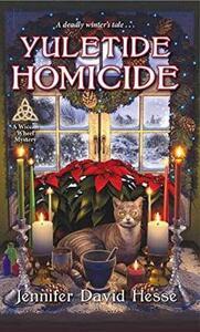 Yuletide Homicide - Jennifer David Hesse - cover