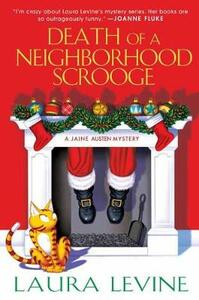 Death of a Neighborhood Scrooge - Laura Levine - cover