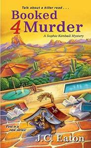 Booked 4 Murder - J.C. Eaton - cover