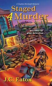 Staged 4 Murder - J.C. Eaton - cover