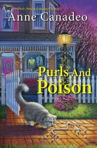 Purls and Poison - Anne Canadeo - cover