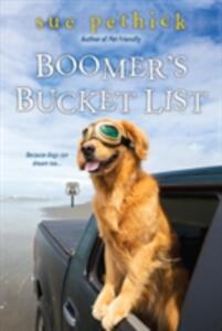 Boomer's Bucket List - Sue Pethick - cover