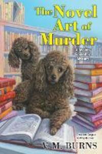 The Novel Art of Murder - V.M. Burns - cover