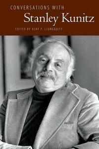Conversations with Stanley Kunitz - cover