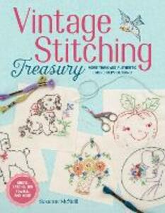 Vintage Stitching Treasury - Suzanne McNeill - cover