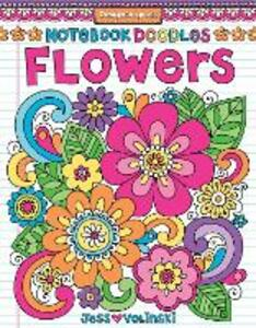 Notebook Doodles Flowers - Jess Volinski - cover