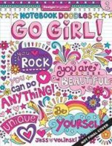 Notebook Doodles Go Girl! - Jess Volinski - cover