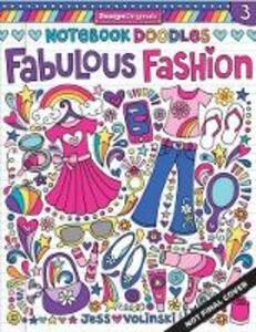 Notebook Doodles Fabulous Fashion - Jess Volinski - cover