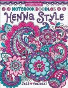 Notebook Doodles Henna Style - Jess Volinski - cover