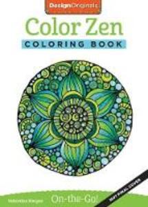 Color Zen Coloring Book - Valentina Harper - cover