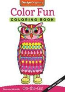 Color Fun Coloring Book - Thaneeya McArdle - cover