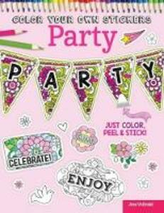 Color Your Own Stickers Party - Jess Volinski,Peg Couch - cover
