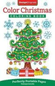 Color Christmas Coloring Book - Thaneeya McArdle - cover