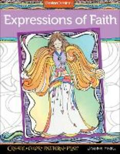 Expressions of Faith Coloring Book - Joanne Fink - cover
